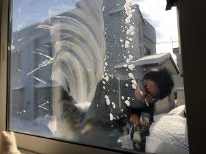 窓クリーニング画像