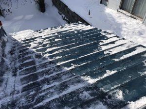 1F屋根雪下ろし後