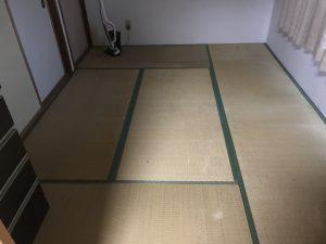 清掃後の寝室