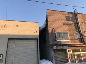 トタン屋根の撤去完了②