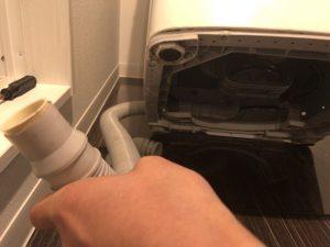 洗濯機ホースの左右入れ替え