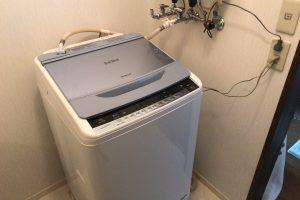 洗濯機取り付け後