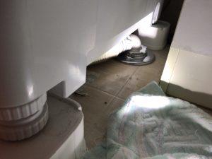 排水口の位置で難易度が格段に変わる