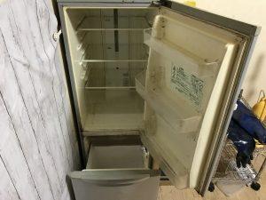 清掃後の冷蔵庫