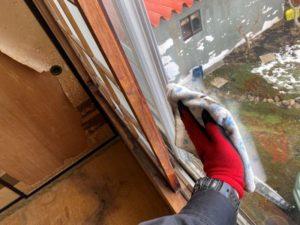窓の拭き掃除サービス